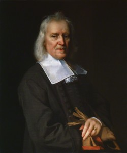 Izaak Walton by Jacob Huysmans, oil on canvas, circa 1672